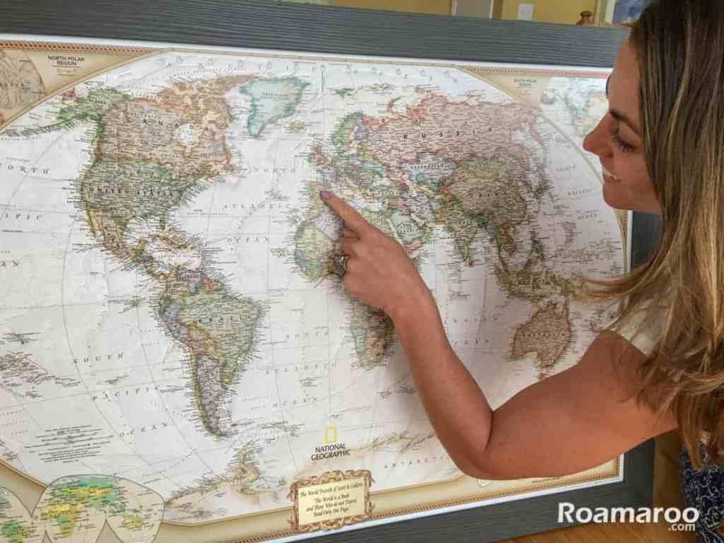 Product Review: Push Pin Travel Map  Pushpin Map