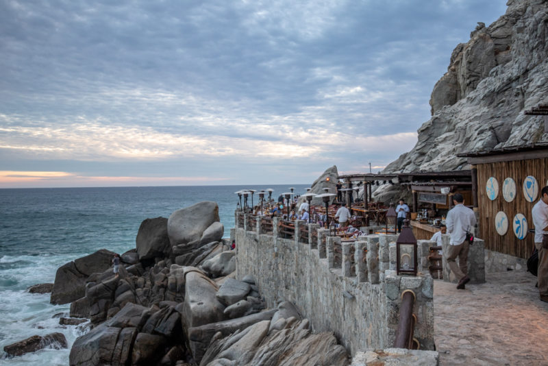 El Farallon The Cliffside Restaurant In Cabo San Lucas