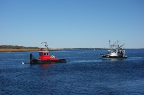 Tugs on the Merrimac River