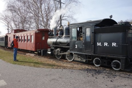 Narrow Gauge Railroad engine - a working steam engine!