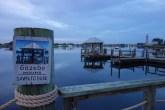 Tranquil man-made lake