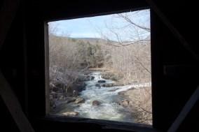 Window through Bull's Bridge