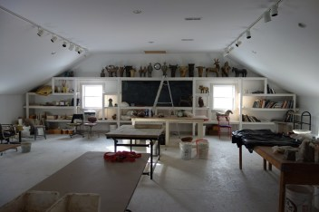 Inside Alison's studio
