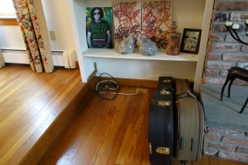 """Steve's """"stay-at-home"""" guitars"""