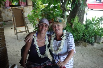 Learning about local hospitality - the leis