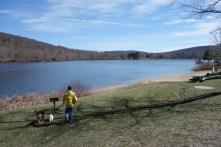 Hiking to lakes