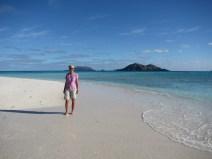Walking on beaches