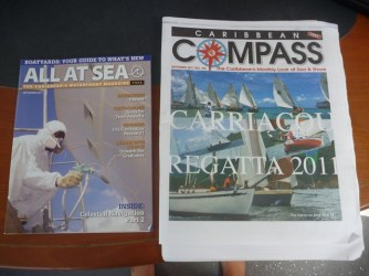 Popular Caribbean boating magazines