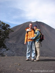 Pacaya volcano in Antigua, Guatemala