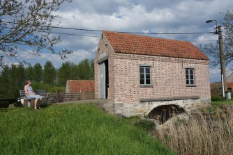 """""""Riekend Rustpunt"""" (Smelly rest stop) - this is where the manure was delivered to be processed in the olden days"""