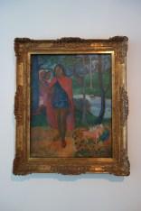 Painting of Paul Gauguin. Aaaah, Tahitian memories