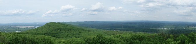 360 degree view over the Berkshires