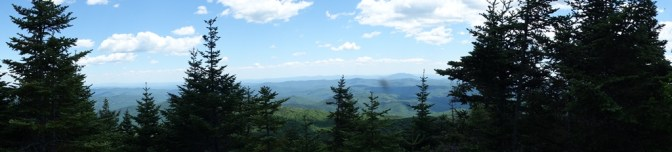 """The view from Shrewsbury Peak is a bit """"shrewed up"""""""