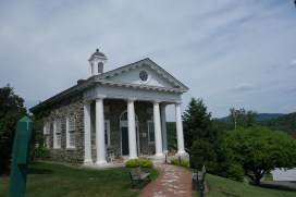 Front of the admissions building