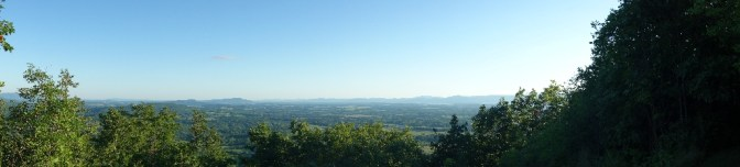 Before sunset on Mt. Philo