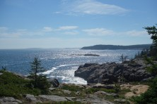 Many sea vistas