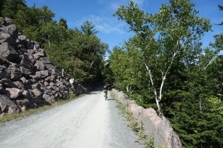 Biking the carriage roads