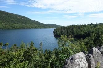 Riding along Eagle Lake