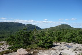 View of Cadillac Mountain and surroundings