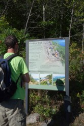 Start of the Precipice Trail