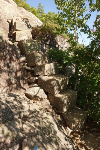 Granite staircase - an easy part!