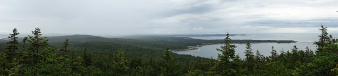 View from the top of Schoodic Head