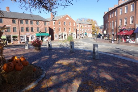 Newburyport, our home base in Massachusetts, USA
