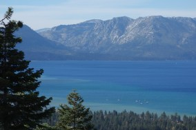 Azure waters of Lake Tahoe