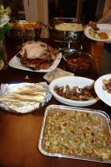 What a spread! Kristen is an awesome cook.