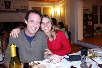 A thankful couple