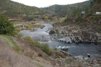 The main valley and river in Auburn State Recreation Area