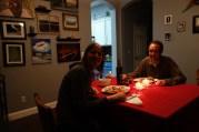 Thanksgiving dinner last night