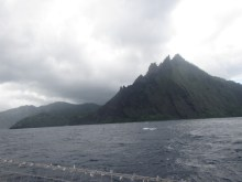 It took us about a week to sail from the Galapagos to the Marquesas, making landfall in Fatu Hiva