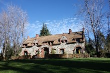 Empire cottage, where the owners of the mine lived