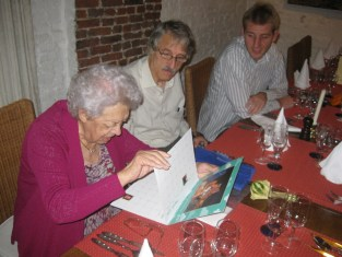 Oma's 90th birthday party in November 2010