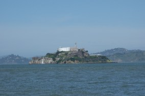 Alcatraz, where my cousin and her husband took a tour (Mark and I have been there on separate occasions in the very past)