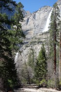 Yosemite Falls (Upper and Lower part) is one of the highest waterfalls in the world.