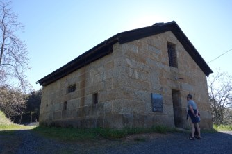 Mariposa County's Old Stone Jail, built in 1858