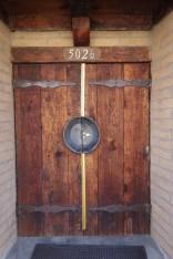 Gold panner's door