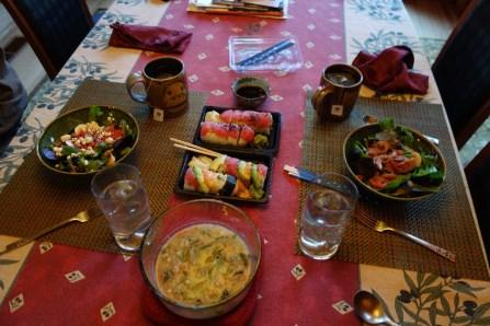 Subsidized sushi take-out!