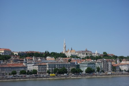 Headed to this view, Castle Hill on the Buda side