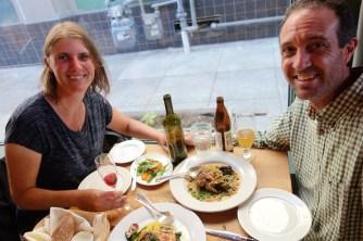 Anniversary dinner at Homestead