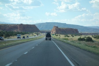 I-40 in New Mexico