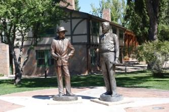 Dr. Oppenheimer and Gen. Groves