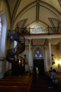 The Miraculous Stairway in Loretto Chapel
