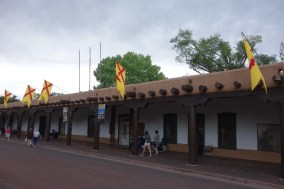 Palace of the Governors - Santa Fe Plaza