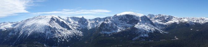 The top of Rocky Mountain National Park