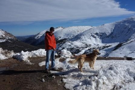 Walk at Alpine Visitor Center