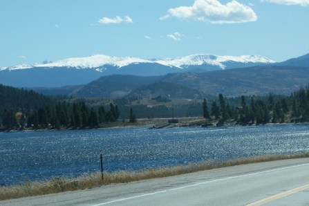 Lake Granby - very picturesque