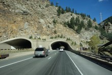 One of the few tunnels in Colorado